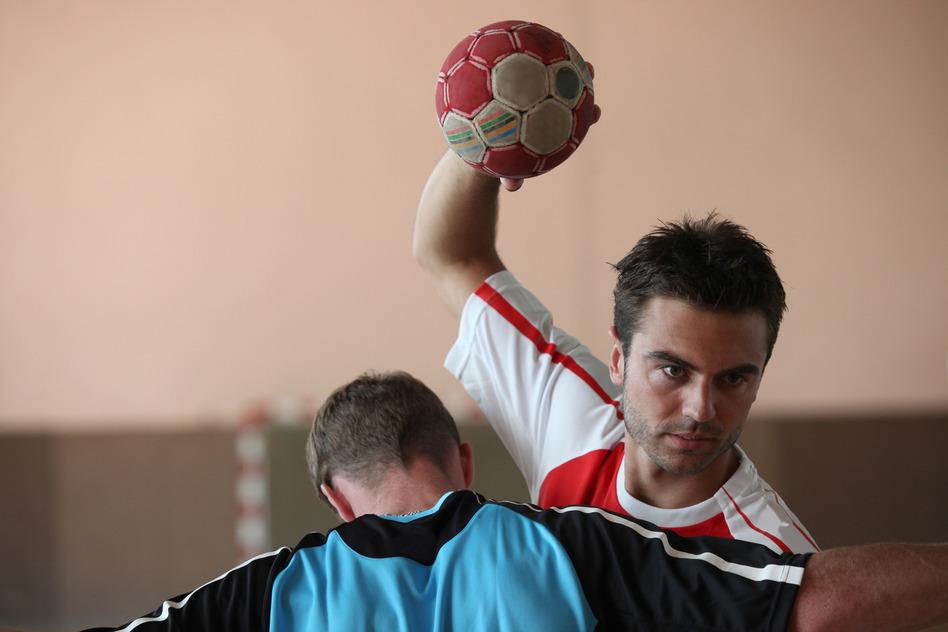 spiller håndbold